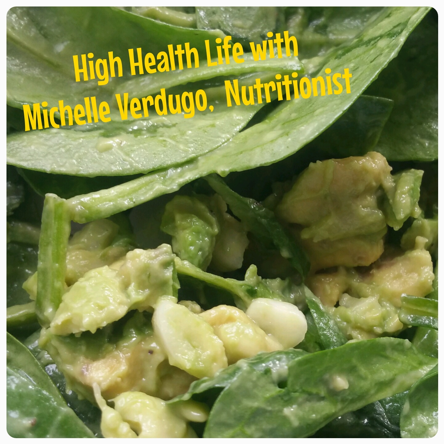 SIMPLE IMMUNE BOOSTING SPINACH SALAD