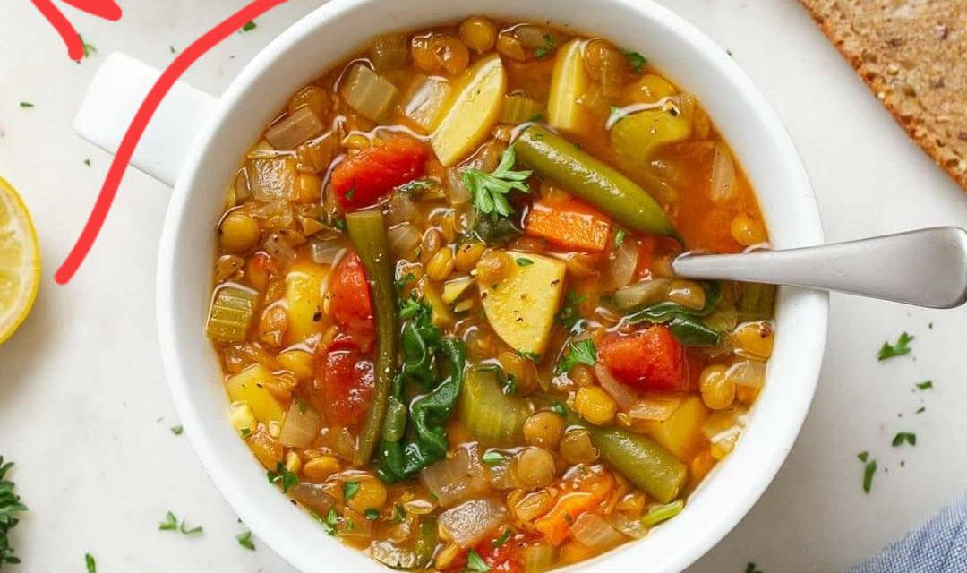 Vegan Hearty Lentil Soup Recipe