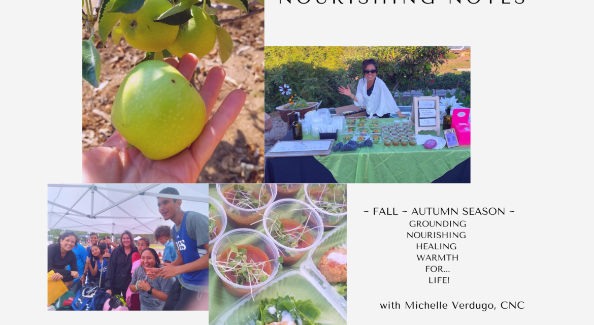 Refresh me with Apples – Fall Autumn Nourishing